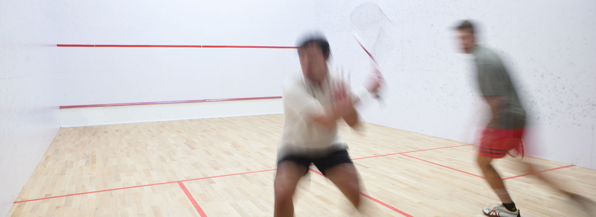 Squash playing at Malvern Active