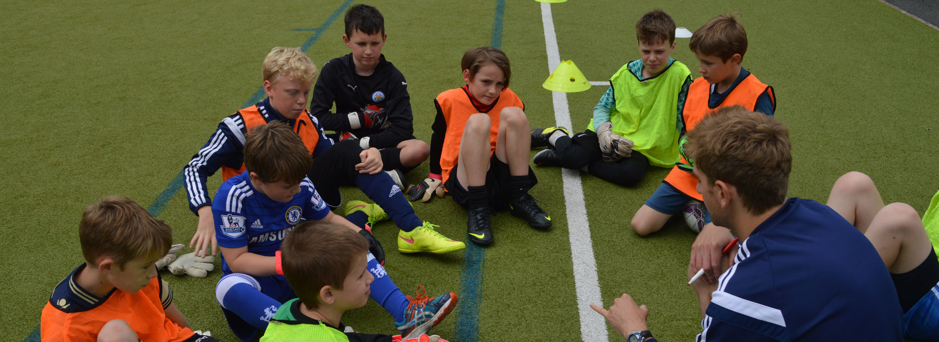 West Brom coaching course at Malvern Active