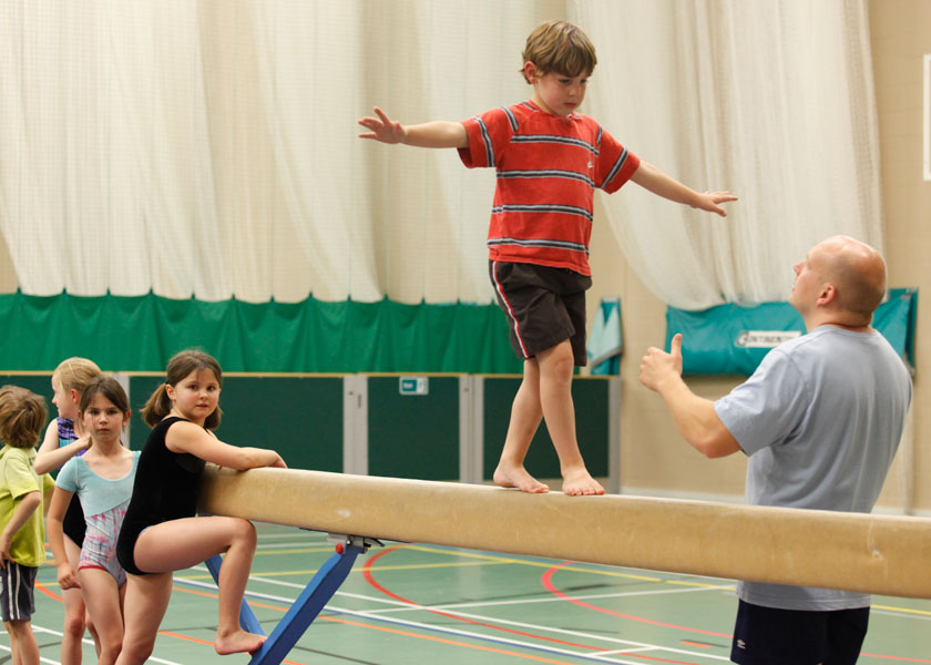 gymnastics at Malvern Active