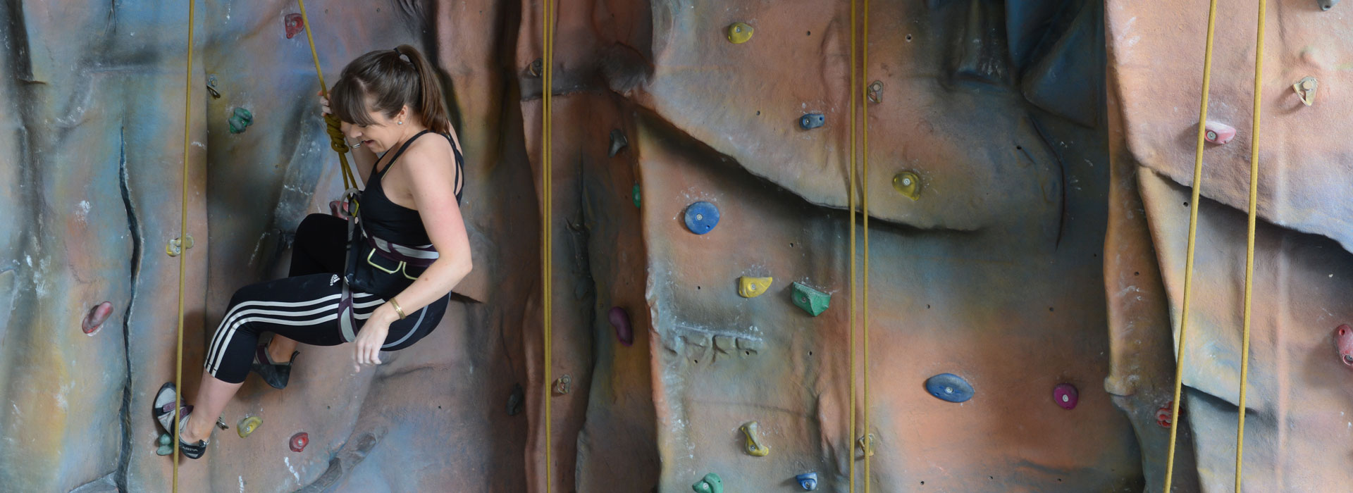 Climbing at Malvern Active