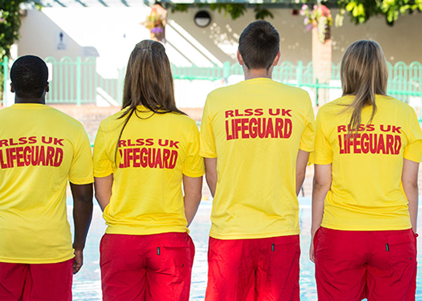 RLSS UK Lifeguard participants